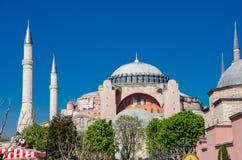 De meningen van Istanboel Aya Sophia Stock Fotografie