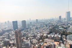 De meningscityscape van Tokyo | Het Aziatische landschap van de de reismetropool van Japan op 30 Maart, 2017 Royalty-vrije Stock Afbeelding
