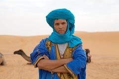 De mens van Berber Stock Afbeeldingen