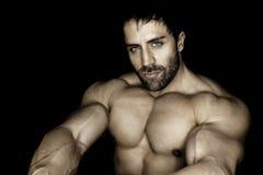 De mens van Bodybuilding Royalty-vrije Stock Foto