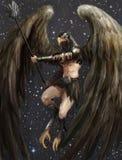 De mens van de adelaar Stock Fotografie