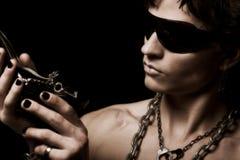 De mens van de amulet Royalty-vrije Stock Foto