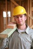 De Mens van de bouw Stock Afbeeldingen