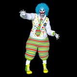 De mens van de clownmake-up Royalty-vrije Stock Foto