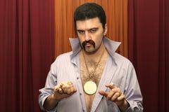 De Mens van de disco Stock Afbeelding