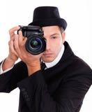 De mens van de foto Royalty-vrije Stock Foto