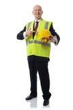 De mens van de gezondheid en van de veiligheid Stock Foto