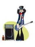 De Mens van de gitaar Royalty-vrije Stock Afbeelding