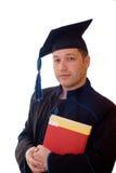 De mens van de graduatie Stock Foto's