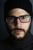 De mens van de Hipsterstijl Royalty-vrije Stock Foto's