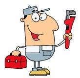 De mens van de loodgieter Royalty-vrije Stock Afbeelding