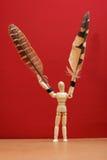 De mens van de mannequinvogel. Royalty-vrije Stock Afbeeldingen