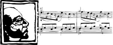 De Mens van de muziek Royalty-vrije Stock Afbeelding