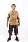 De mens van de overleving Stock Foto