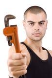 De mens van de reparatie Stock Afbeelding