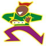 De mens van de samba Royalty-vrije Stock Fotografie