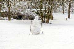 De mens van de sneeuw Royalty-vrije Stock Fotografie