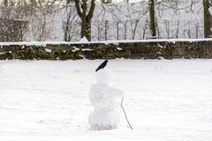 De mens van de sneeuw Stock Fotografie