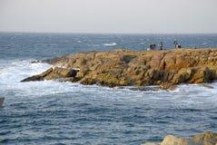 De mens van de visser Royalty-vrije Stock Fotografie
