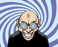 De mens van Googles van Hypno Royalty-vrije Stock Afbeelding
