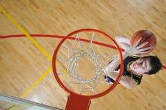De mens van het basketbal Royalty-vrije Stock Afbeeldingen