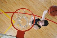 De mens van het basketbal Stock Afbeeldingen