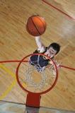De mens van het basketbal Stock Afbeelding