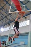 De mens van het basketbal Stock Foto