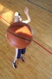 De mens van het basketbal Royalty-vrije Stock Fotografie