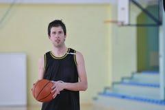 De mens van het basketbal Royalty-vrije Stock Afbeelding