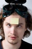 De mens van het geheugen stock afbeelding