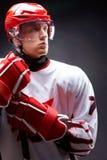 De mens van het hockey stock afbeelding