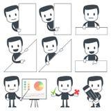 De mens van het pictogram Stock Afbeeldingen