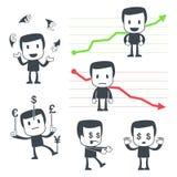 De mens van het pictogram Stock Afbeelding