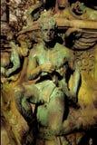 De mens van het standbeeld Stock Afbeeldingen