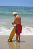 De Mens van het strand royalty-vrije stock afbeeldingen