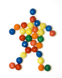 De mens van het suikergoed Stock Foto