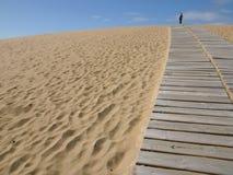 De mens van het zand Royalty-vrije Stock Foto
