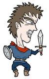 De mens van het zwaard Royalty-vrije Stock Foto's