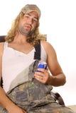 De mens van Hillbilly Stock Afbeeldingen