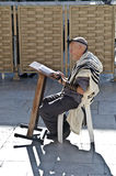 De mens van Jood het bidden Royalty-vrije Stock Foto's