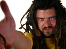 De mens van Rastafarian royalty-vrije stock afbeeldingen