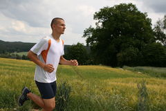 De mens van Runing #4 Stock Afbeeldingen