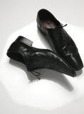 De mens van schoenen Stock Foto