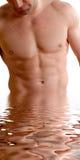 De mens van spieren Stock Foto's