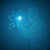 De menselijke activiteiten dragen tot succes bij vector illustratie