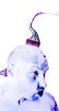 De menselijke robot van Cyborg Royalty-vrije Stock Foto's