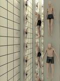 De menselijke Verwezenlijking van het Laboratorium Stock Foto