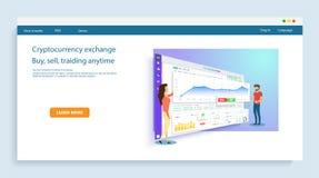 De mensen bouwen een dashboard en gaan met grafieken interactie aan stock illustratie