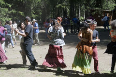 De mensen dansen Stock Fotografie